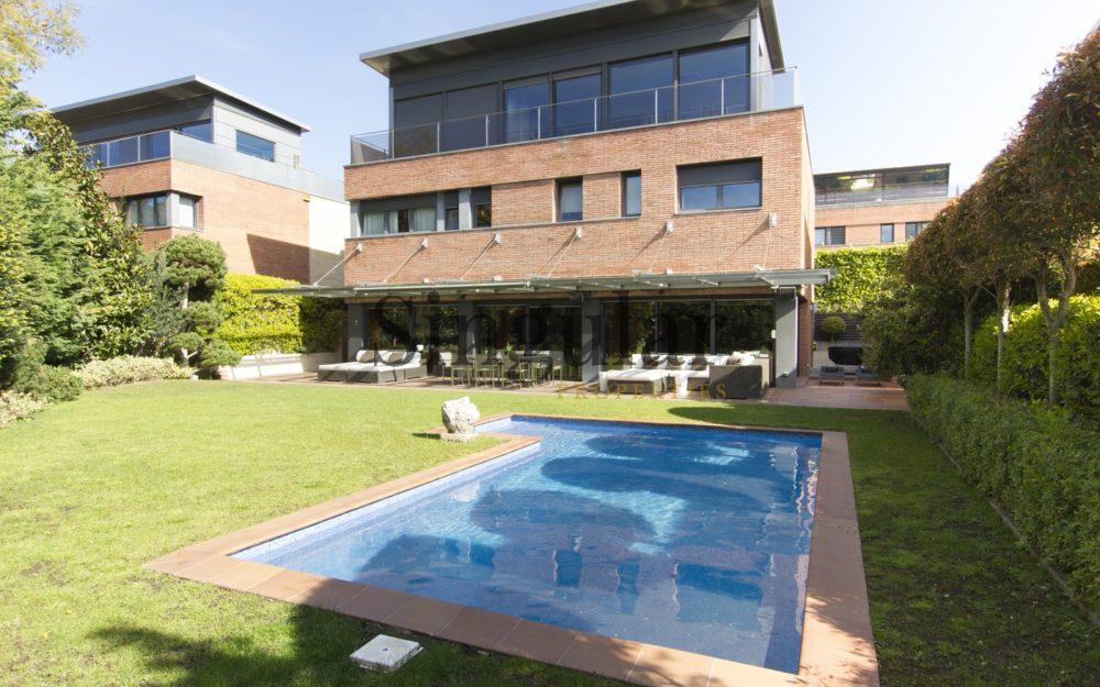 Unifamiliar de lujo con piscina- Sarrià