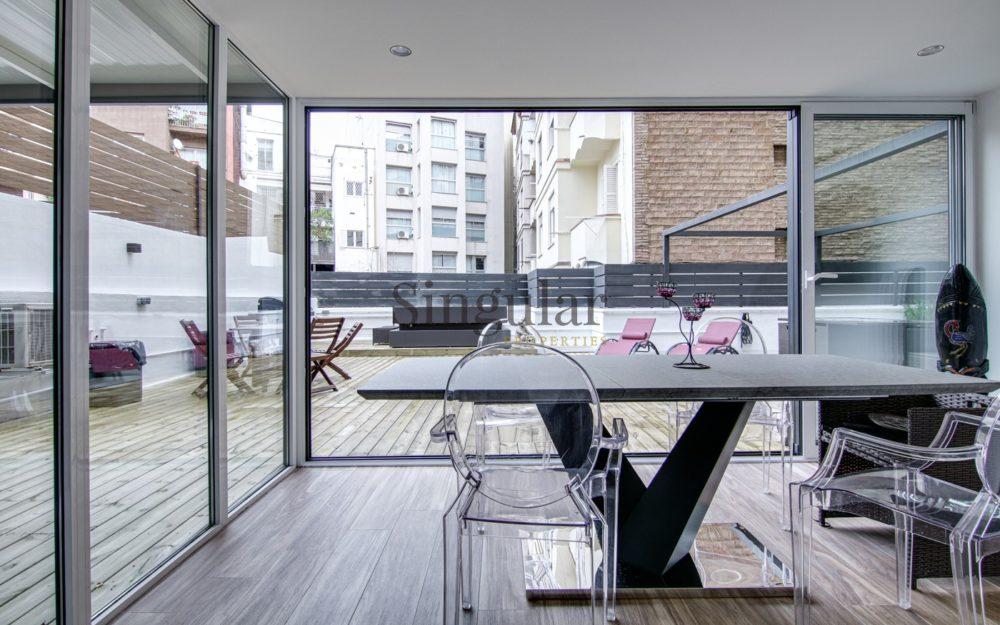 Vanguardista y con 142m²  terraza- Putxet