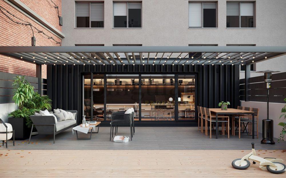 Vanguardista y con 140m²  terraza- Putxet