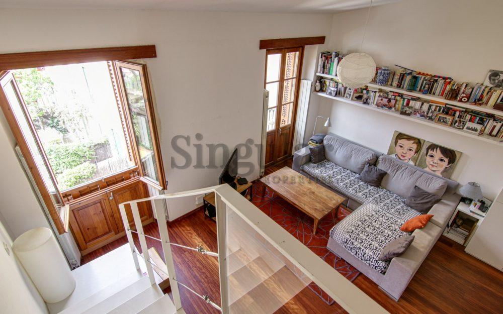 Vivienda única en corazón de Sarrià techos de 4m
